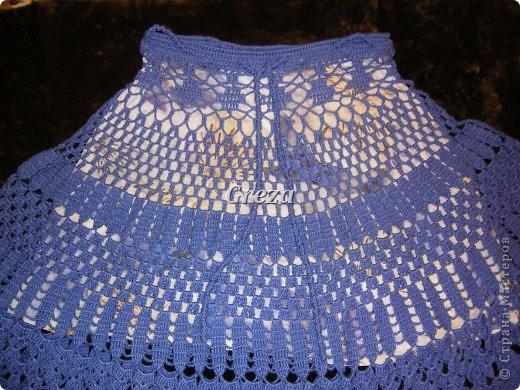 Очередная юбка, связанная крючком. На сегодняшний день, последняя. Думаю, пора передохнуть от больших проектов)))) и заняться чем-нибудь попроще фото 3