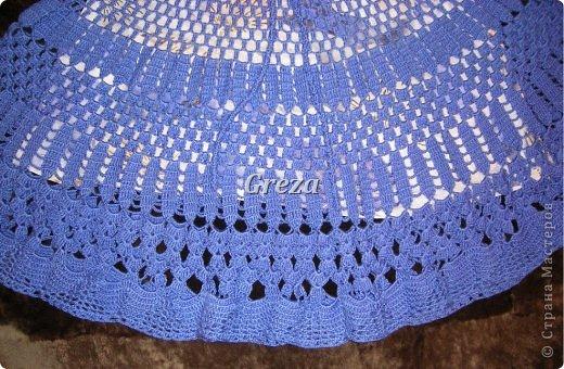 Очередная юбка, связанная крючком. На сегодняшний день, последняя. Думаю, пора передохнуть от больших проектов)))) и заняться чем-нибудь попроще фото 4