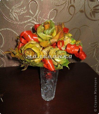 букет из кленовых листьев фото 1