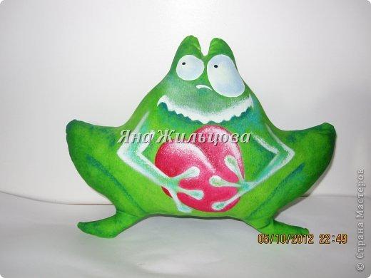 мятная лягушка