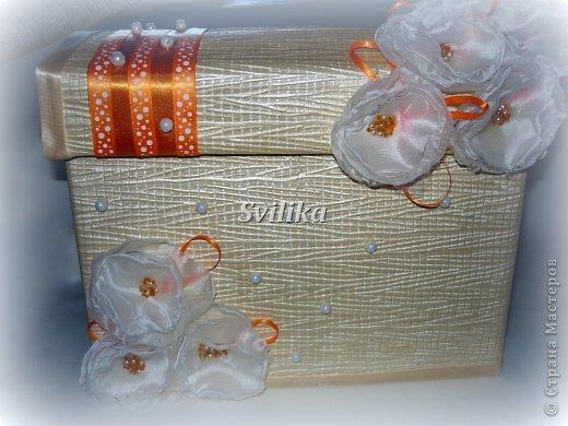 Оранжевая свадьба фото 1