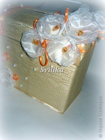Оранжевая свадьба фото 3