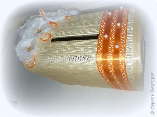 Оранжевая свадьба фото 5