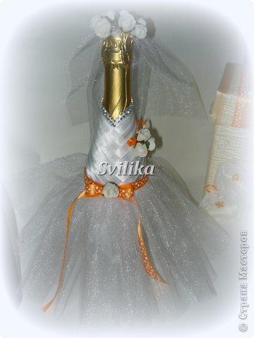 Оранжевая свадьба фото 11