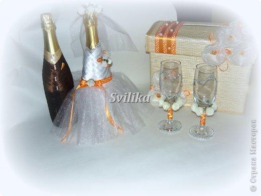 Оранжевая свадьба фото 14