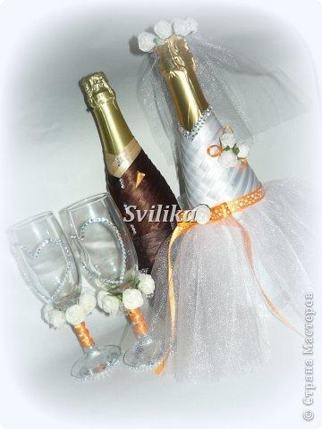 Оранжевая свадьба фото 16