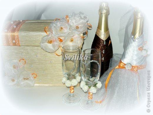 Оранжевая свадьба фото 17