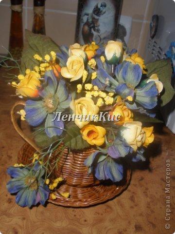 Были у меня цветы космеи,которые мне очень нравились, и долгое время не могла подобрать к ним компанию фото 1