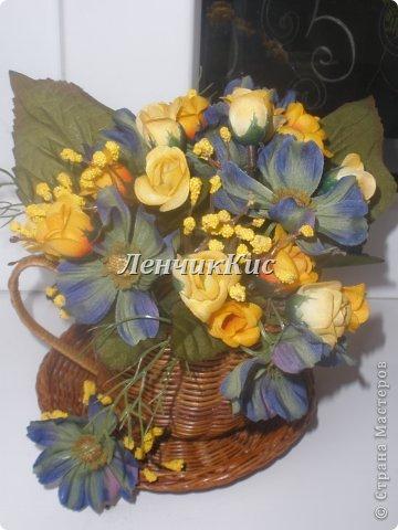 Были у меня цветы космеи,которые мне очень нравились, и долгое время не могла подобрать к ним компанию фото 2