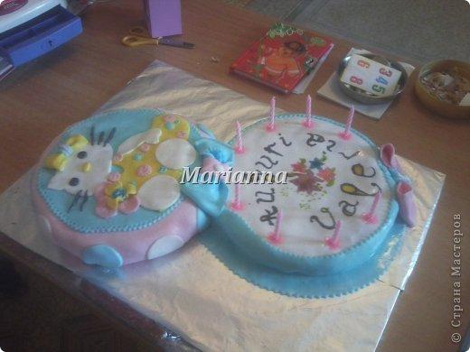 День рождения лепка торт дочке на день