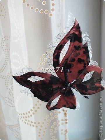 Бабочка из шелка. фото 8