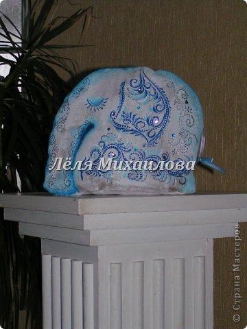"""Интерьерная игрушка """"Слон"""" фото 3"""