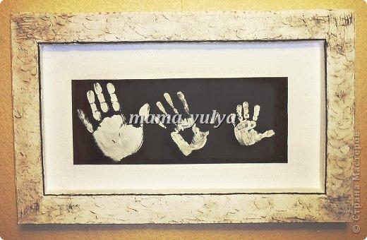 Картины своими руками с ребенком