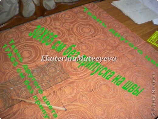 Интерьер Мастер-класс Шитьё Декоративная подушка выполненная в технике буфы  Ткань фото 3