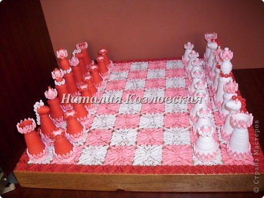 "Квиллинг - Шахматы-1 "" Поиск мастер классов, поделок своими руками и рукоделия на SearchMasterclass.Net"