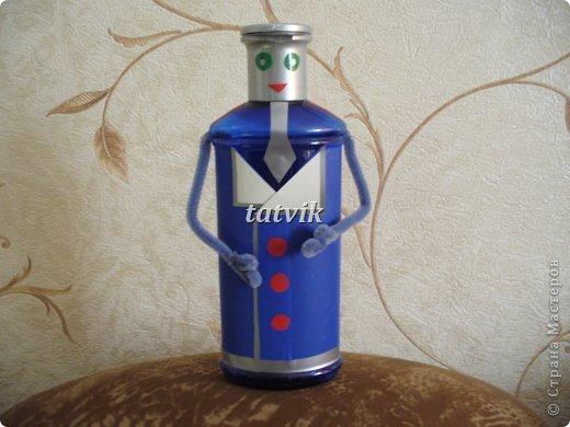 Поделки из бутылок куклы