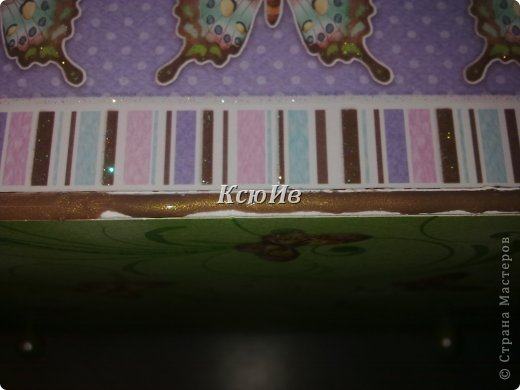 Декор предметов Скрапбукинг Декупаж Шкатулка для девочки + МК по клею Бумага Бусины Скотч фото 20