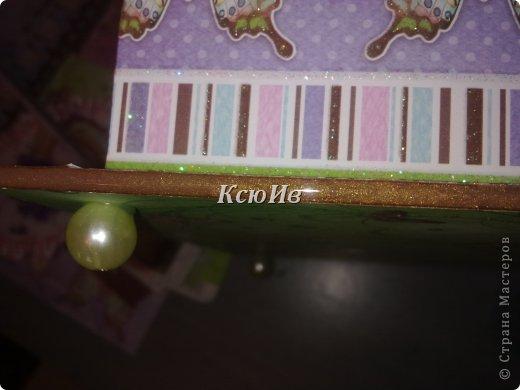 Декор предметов Скрапбукинг Декупаж Шкатулка для девочки + МК по клею Бумага Бусины Скотч фото 22