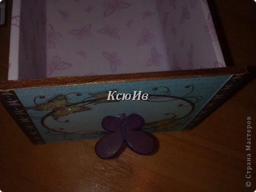 Декор предметов Скрапбукинг Декупаж Шкатулка для девочки + МК по клею Бумага Бусины Скотч фото 23