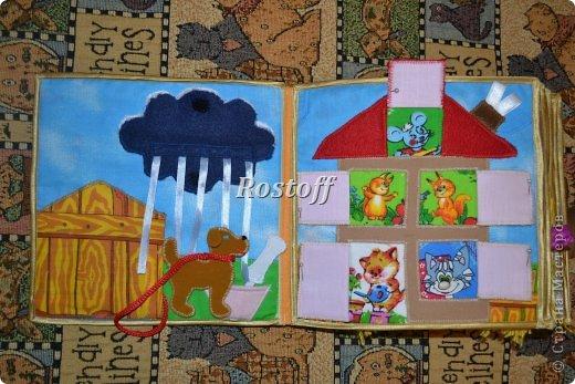 Книжка из ткани для малышей, заказ. фото 7