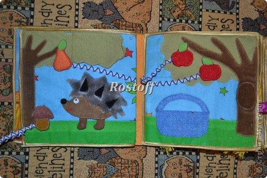 Книжка из ткани для малышей, заказ. фото 8