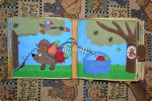 Книжка из ткани для малышей, заказ. фото 9