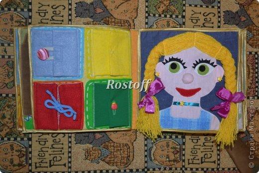 Книжка из ткани для малышей, заказ. фото 11