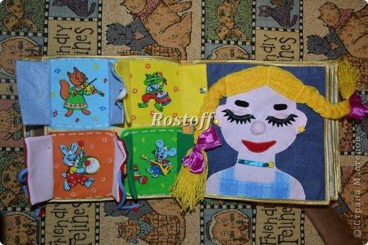 Книжка из ткани для малышей, заказ. фото 12