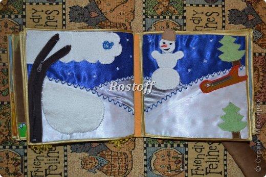 Книжка из ткани для малышей, заказ. фото 13