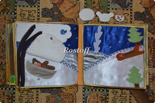 Книжка из ткани для малышей, заказ. фото 14