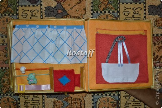 Книжка из ткани для малышей, заказ. фото 18