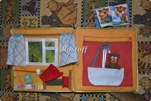 Книжка из ткани для малышей, заказ. фото 19