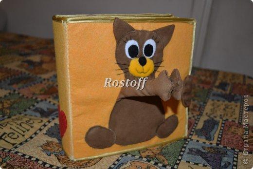 Книжка из ткани для малышей, заказ. фото 5