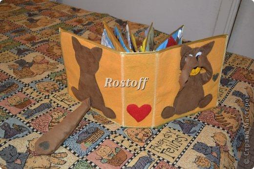 Книжка из ткани для малышей, заказ. фото 1