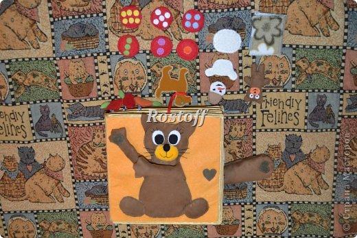 Книжка из ткани для малышей, заказ. фото 22