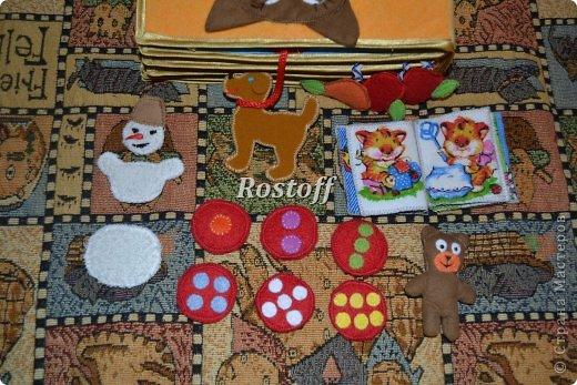 Книжка из ткани для малышей, заказ. фото 23