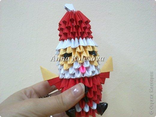 модульное Дед мороз Бумага