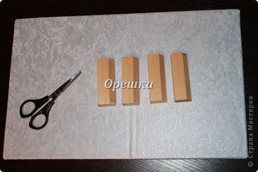 Поделка изделие Бумагопластика Пейп- арт сундук МК   Салфетки фото 15