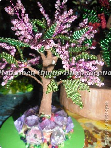 Поделка изделие Бисероплетение Деревца из бисера Бисер фото 5.