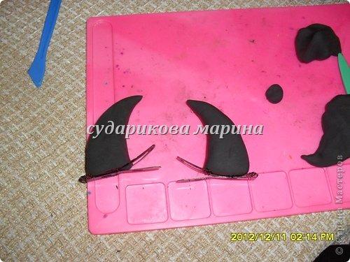 """Вот такие рожки у меня получились к костюму дочки """"Чертенок""""))) фото 2"""