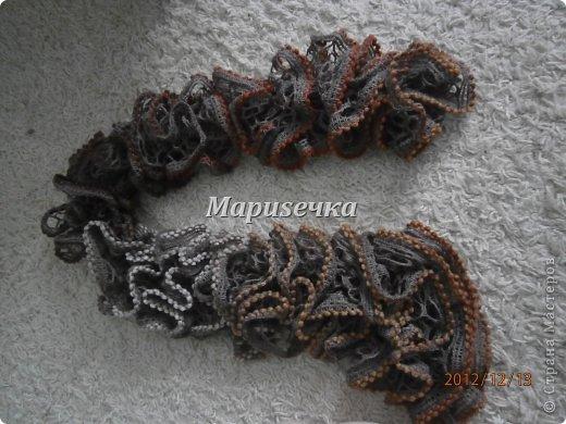 Интересненький шарф маме фото 1