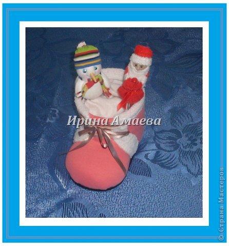 Новогодний башмак со сказочными персонажами фото 2