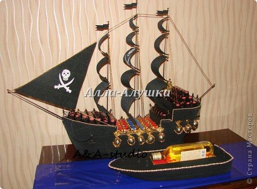 Корабль из пенопласта своими руками мастер класс