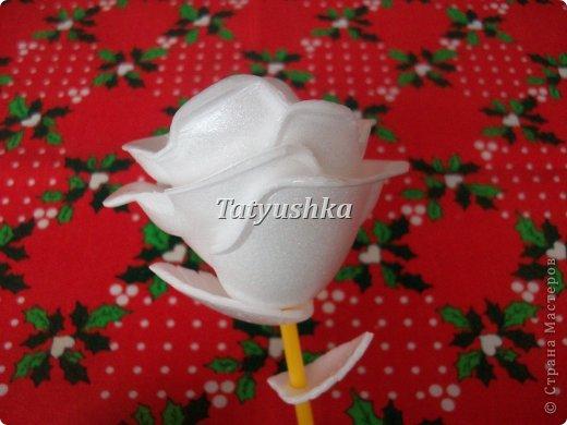 Здравствуйте, мастера и мастерицы! Предлагаю посмотреть, как можно сделать или попробовать самим сделать простые цветочки из упаковки от яиц. фото 44