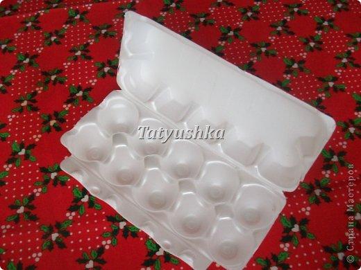 Здравствуйте, мастера и мастерицы! Предлагаю посмотреть, как можно сделать или попробовать самим сделать простые цветочки из упаковки от яиц. фото 5