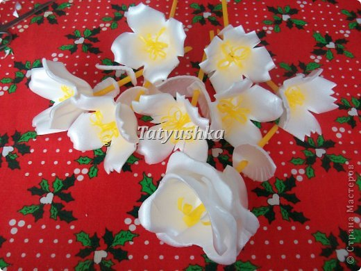 Здравствуйте, мастера и мастерицы! Предлагаю посмотреть, как можно сделать или попробовать самим сделать простые цветочки из упаковки от яиц. фото 61