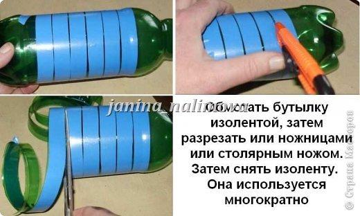Корзинка для цветов из пластиковых бутылок своими руками