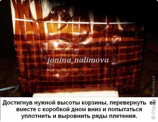 Вот сплела себе две корзинки из пластиковых бутылок. Нашла в интернете какой-то иностранный журнал, посмотрела как плести и взялась за дело... фото 29