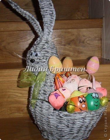 Плетение букеты из конфет к пасхе