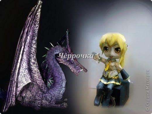 Вокалоиды,драконы,Mikuri,кот.Бумажное моделирование или Papercraft фото 1